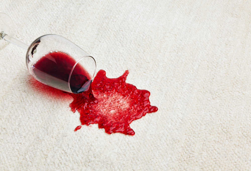 How to: Clean Red Wine stains out of your Carpet