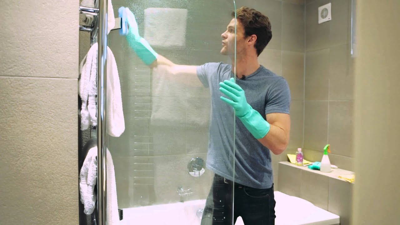 How to: Clean a Shower Screen